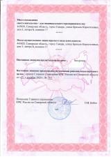 Лицензия МЧС №4