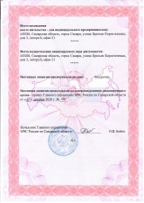 Лицензия МЧС №6